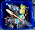 Residuos de envases en los bidones de peligrosos