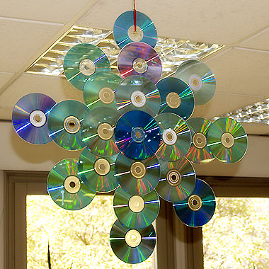 Haz tus adornos navide os reciclando el medio ambiente - Ideas para decorar estrellas de navidad ...